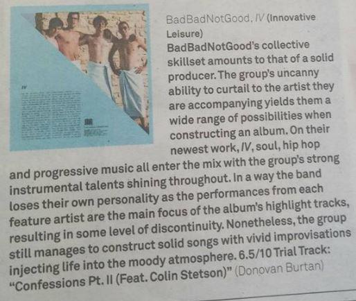 badbadnotgood review